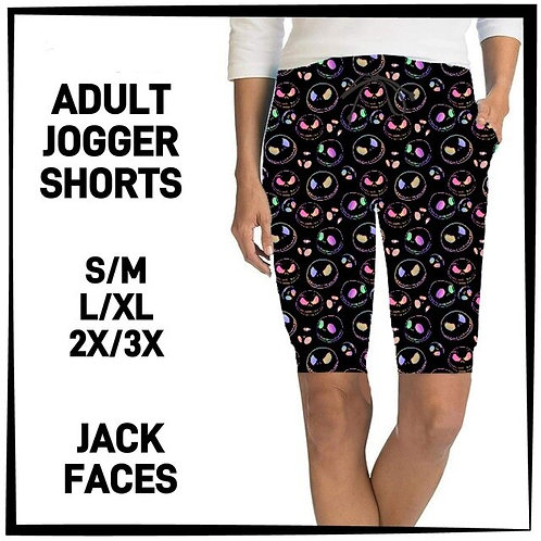Jack Faces Jogger Shorts