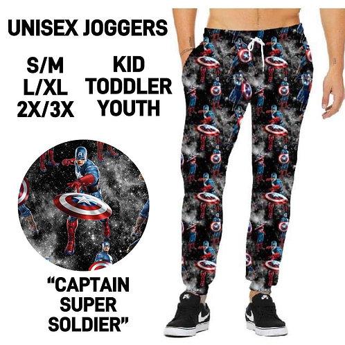 Captain Super Soldier Joggers