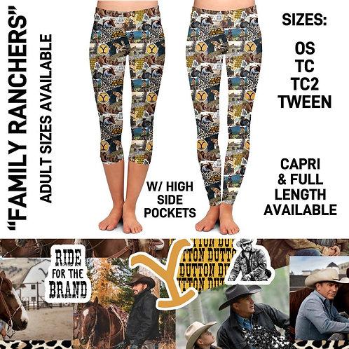 Family Ranchers Legging