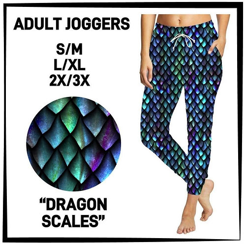 Dragon Scales Joggers