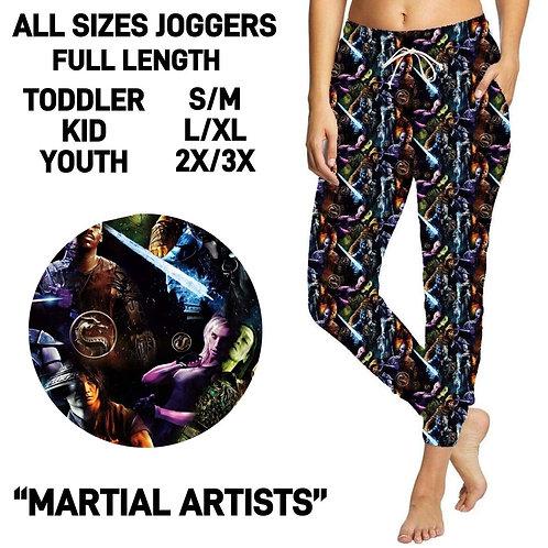 Martial Artists Unisex Joggers