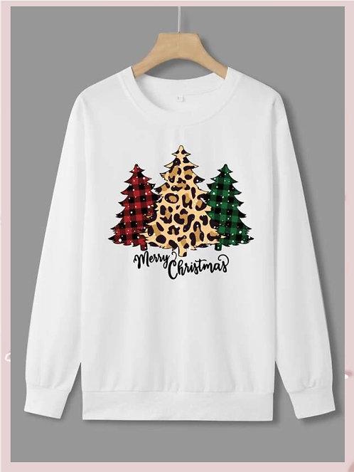 Fashion Christmas Trees Sweatshirts  ~ S thru XL ~ Color Options