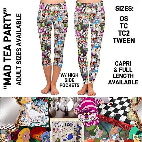 Mad Tea Party Leggings
