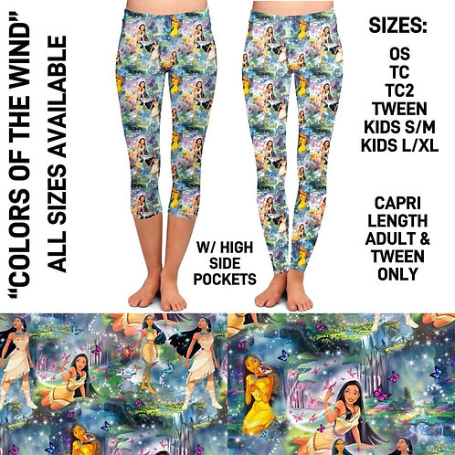 Colors of the Wind Leggings