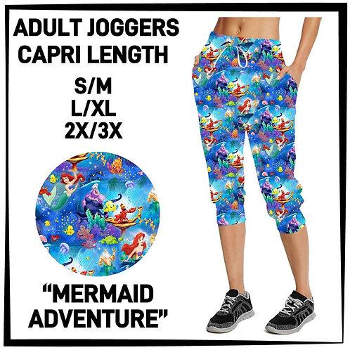 Mermaid Adventure Capri Joggers