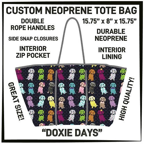 Doxie Days Neoprene Bag