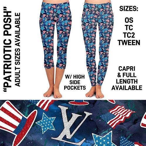 Patriotic Posh Leggings