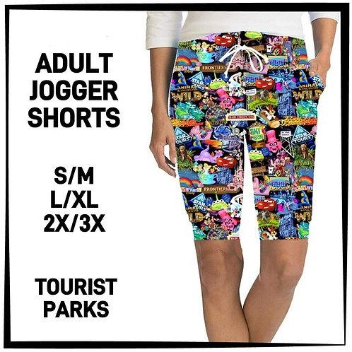 Tourist Parks Joggers Shorts