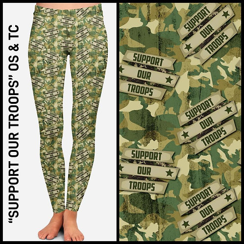 Support Our Troops Leggings