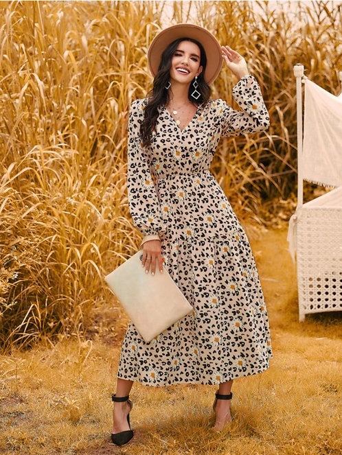 Dots and Daisy's A Line Dress ~ S thru XL ~ Color Options