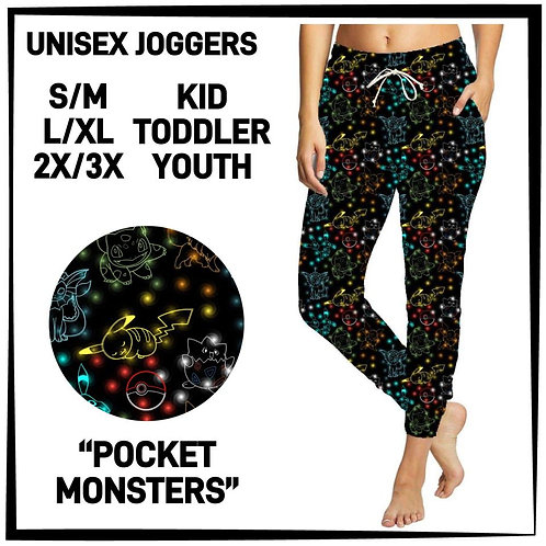 Pocket Monsters Joggers