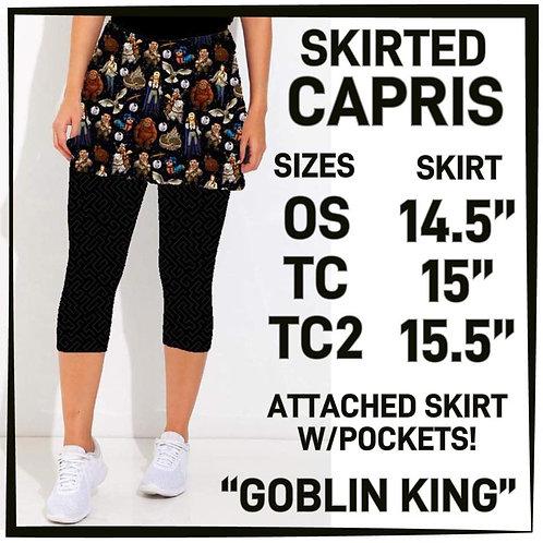 Goblin King Skirted Capris