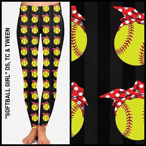 Softball Girl Leggings
