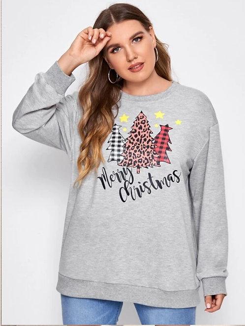 Fashion Christmas Trees Sweatshirts  ~ X sizes