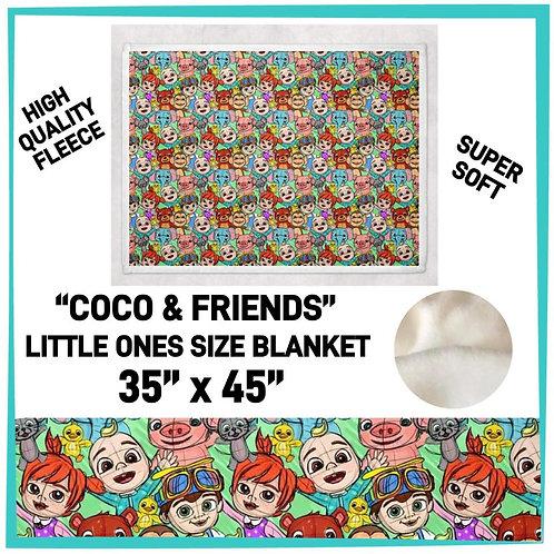 Coco & Friends Little Blanket
