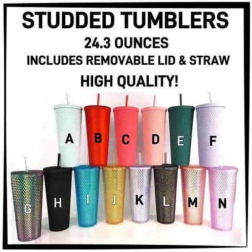 Studded Tumblers