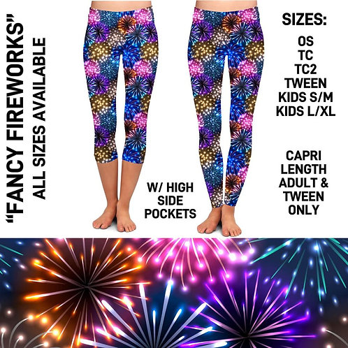 Fancy Fireworks Leggings