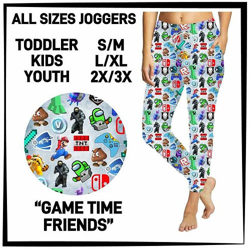 Game Time Friends Joggers
