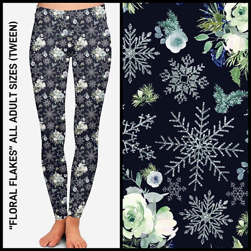 Floral Flakes Leggings