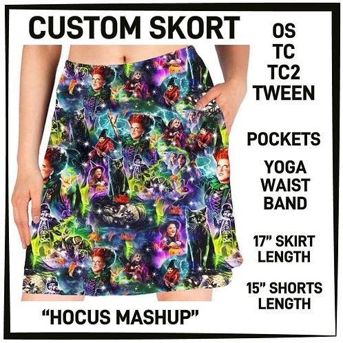 Hocus Mashup Skort