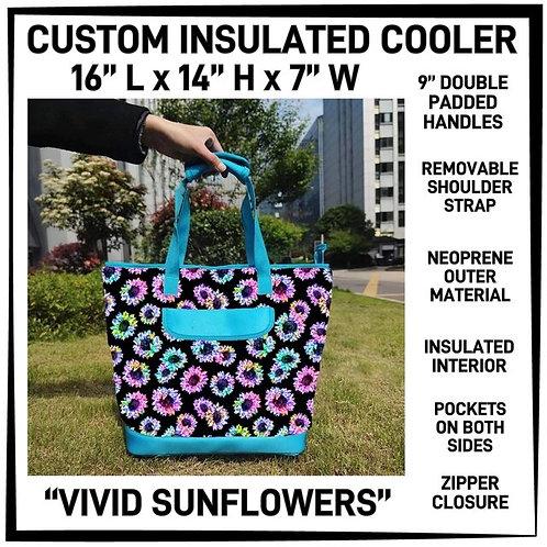 Vivid Sunflower Custom Insulated Cooler