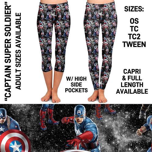 Captain Super Soldier Leggings