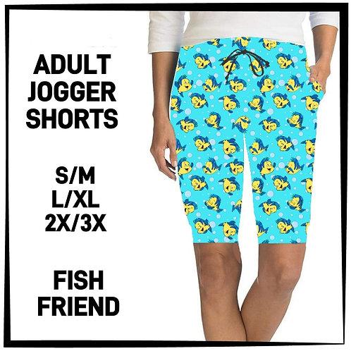 Fish Friend Jogger Shorts