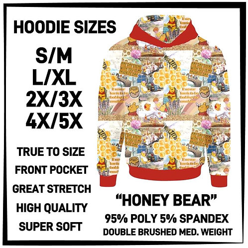 Honey Bear Hoodie ~ ETA Mid April