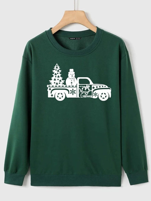 Farm Truck Tree and Snowman ~ S thru XL