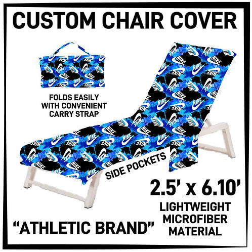 Athletic Brand Lounge Chair Cover