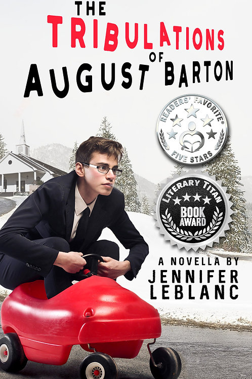 The Tribulations of August Barton Flawed Copy (Signed)