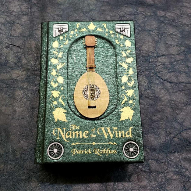 The Name of the Wind Special Edition Leather Bound