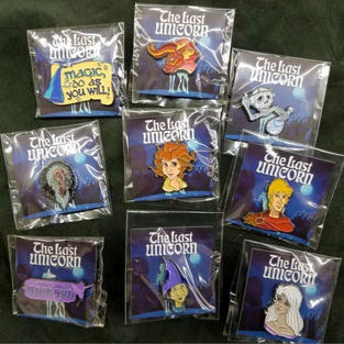 The Last Unicorn – Official Licensed Enamel Pins