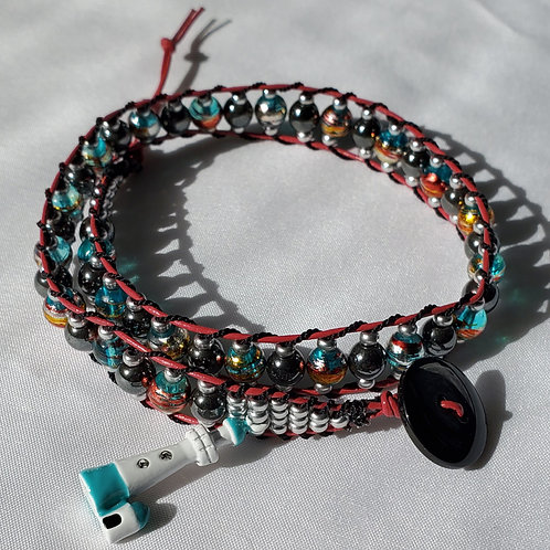 Lighthouse Double Wrap Bracelet