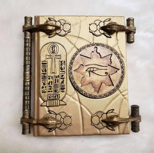 The Book of the Living (The Mummy Replica)