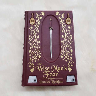 The Wise Man's Fear Special Edition Leather Bound