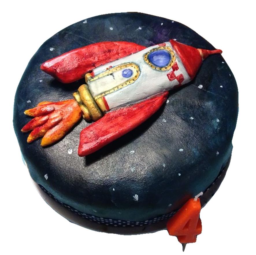 Raketen - Torte