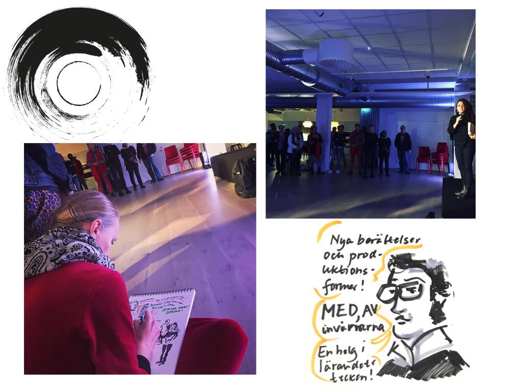 Communitybiennalen - Invigning på Rörelsernas Museum