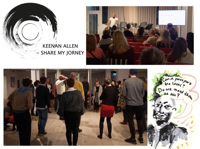 Communitybiennalen - Keenan Allen: Share my journey