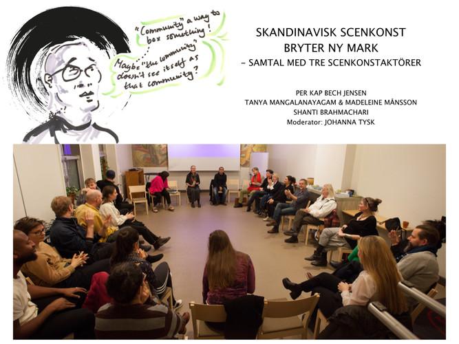 Communitybiennalen - Samtal: Skandinavisk scenkonst bryter ny mark