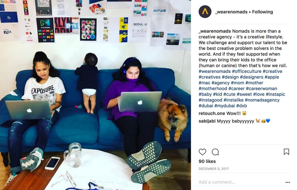 Take a peek inside Nomads office culture.
