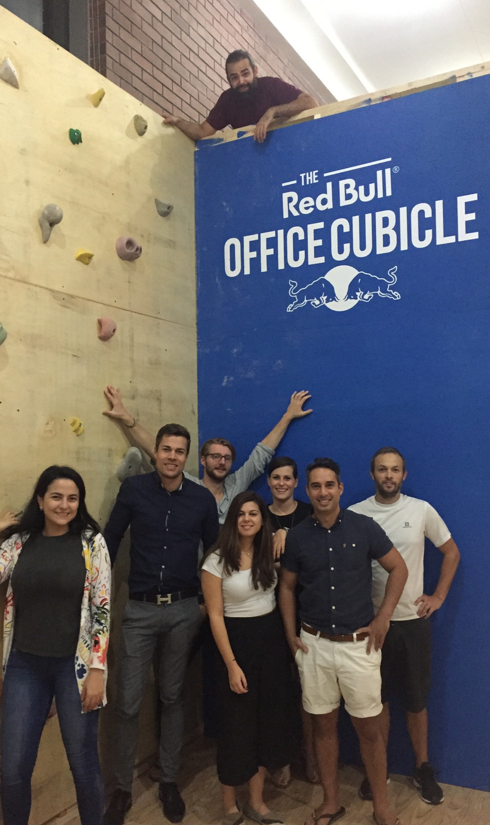 Winning a pitch was never so much fun. #RedBull