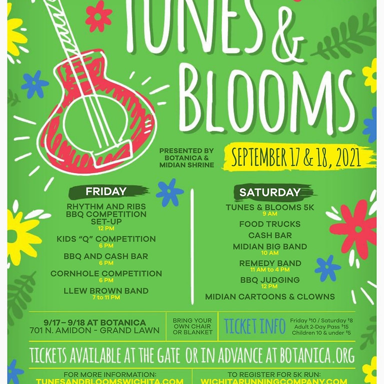 Tunes & Blooms