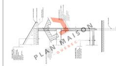 plan maison de ville