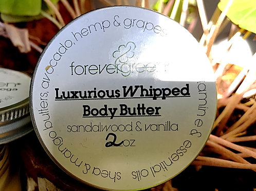 Luxurious Whipped Shea Butter * Travel Size