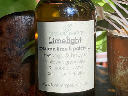 Limelight Massage & Body Oil