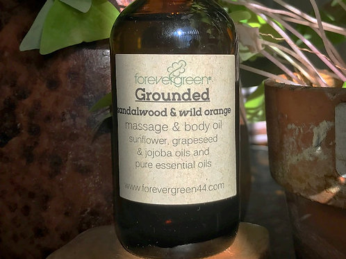Grounded Massage & Body Oil