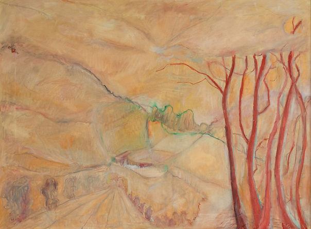 mountain-landscape Oliver Dorrell artist