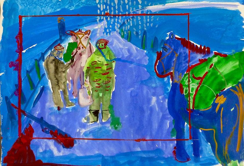 North Caucasus Introduction Oliver Dorrell artist