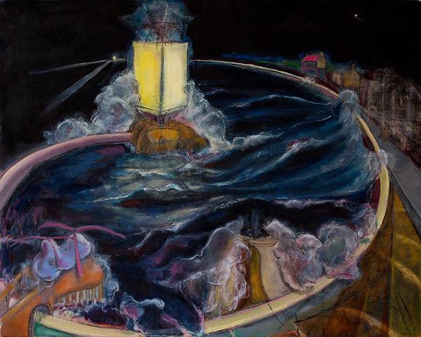 Oliver Dorrell Artist storm painting
